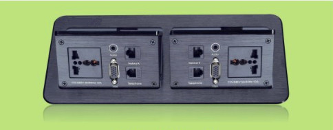 Multi - Function Gas - Supported Desktop Flip Socket Switch Junction Box